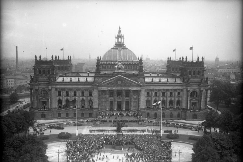 Berlin, Reichstag 1982