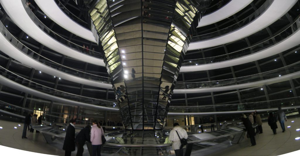 The Bundestag Dome Mirrors